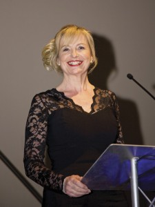 BBC Weather presenter Carol Kirkwood acted as compere