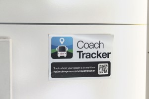 The Coach Tracker app enables every service to be tracked in real time