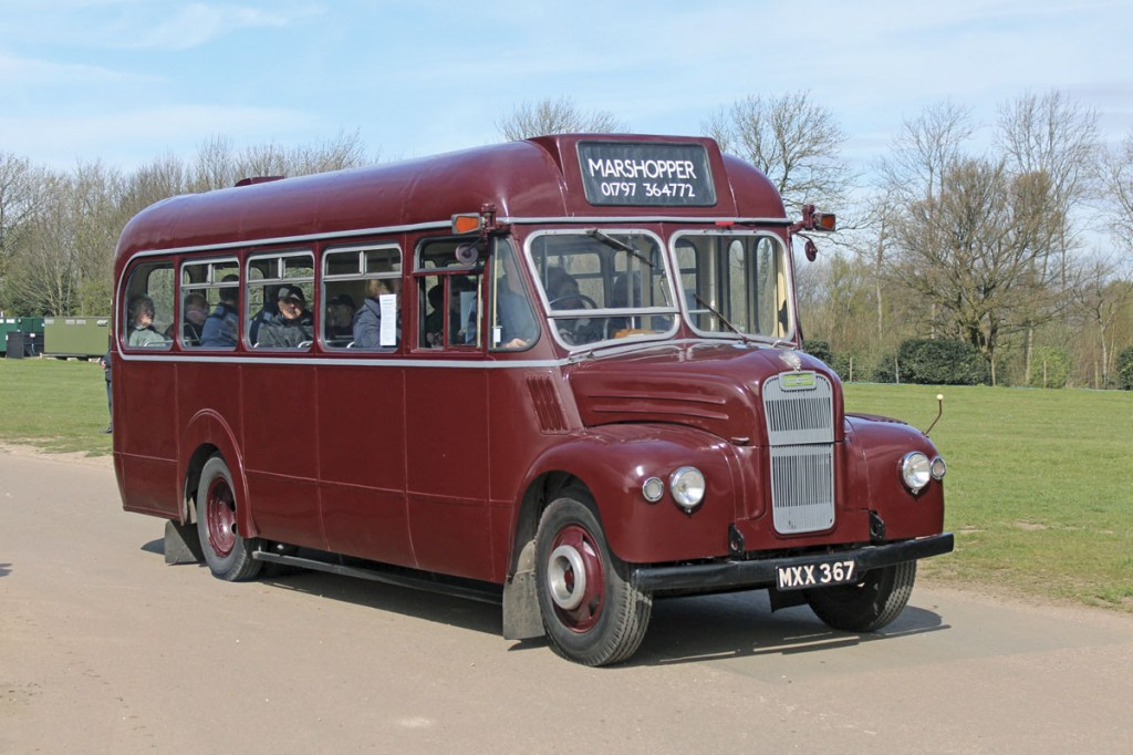 London's GS class of Guy Specials with Perkins engines and ECW coachwork have long been popular little buses. This one is still working with Marshopper of New Romney