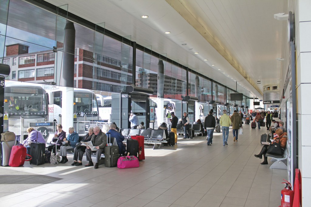 Modern terminal facilities are an important part of the customer experience