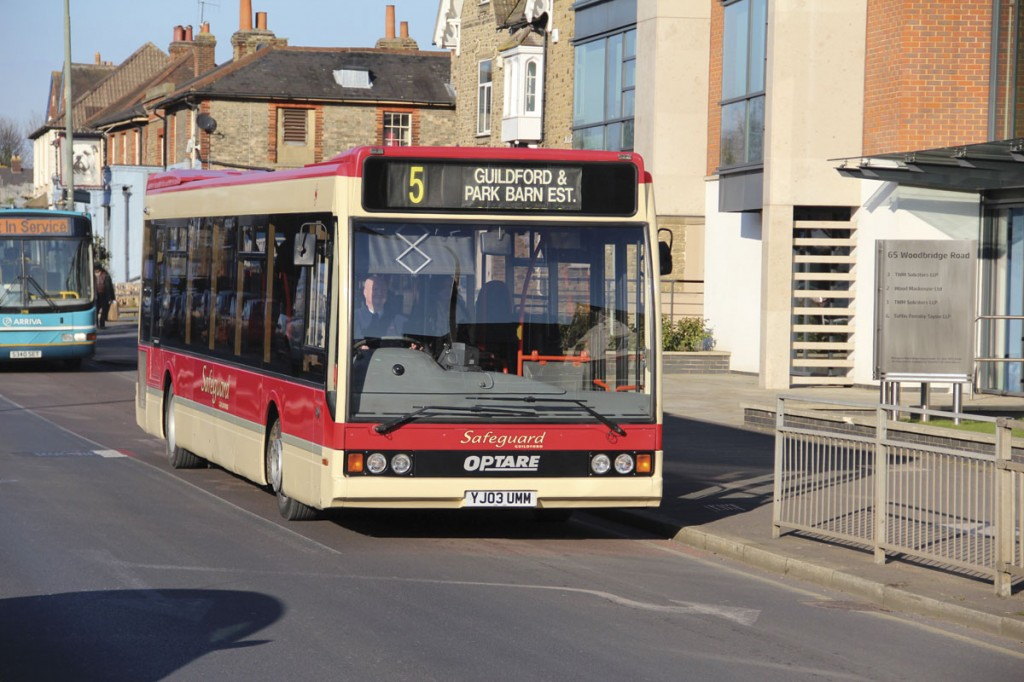 This Optare Excel was purchased new and delivered in April 2003