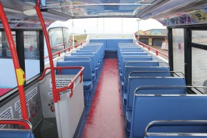 The upper decks have been retrimmed in e-leather