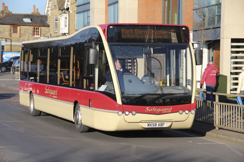 After three Excels, a Tempo and a short lived Alero, Safeguard opted for this Versa from the Optare stable in 2008. Three more have been acquired since