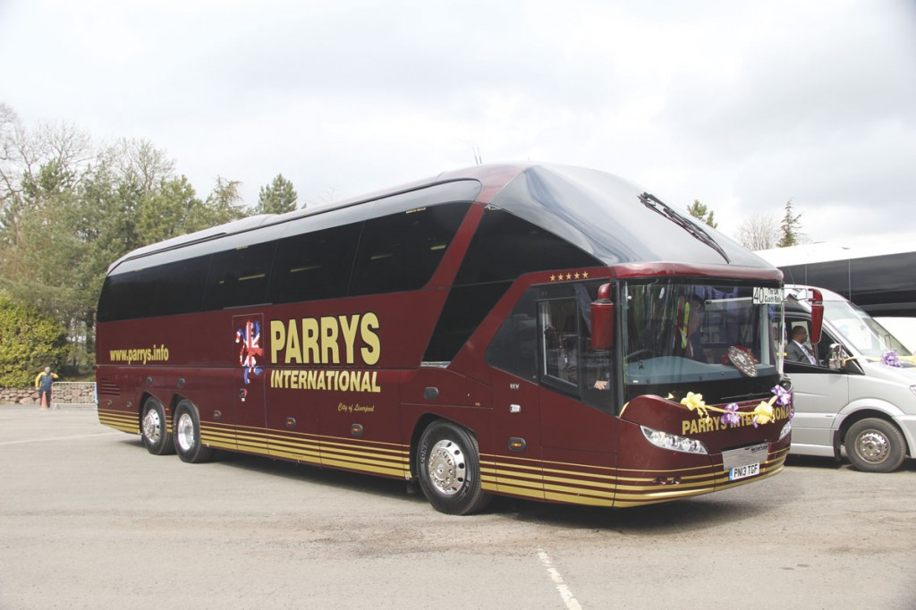 Delivered last year, Parry's first Starliner2 won the Coach of the Year title at the UK Coach Rally at Alton Towers