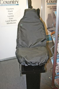 A seat covering from Town and Country Vehicle Seat Covers