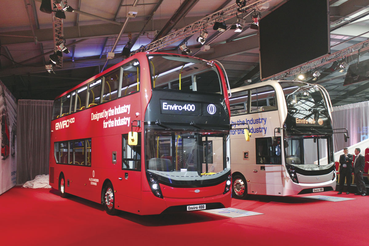 An Operator S Bus Alexander Dennis Limited S New
