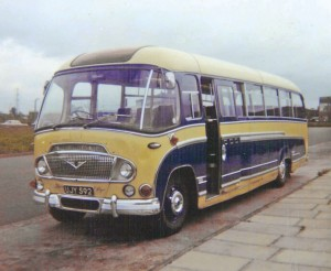 Roy McCarthy's first coach was this Bedford SB3 Duple Super Vega. He only kept it for about 18 months before upgrading