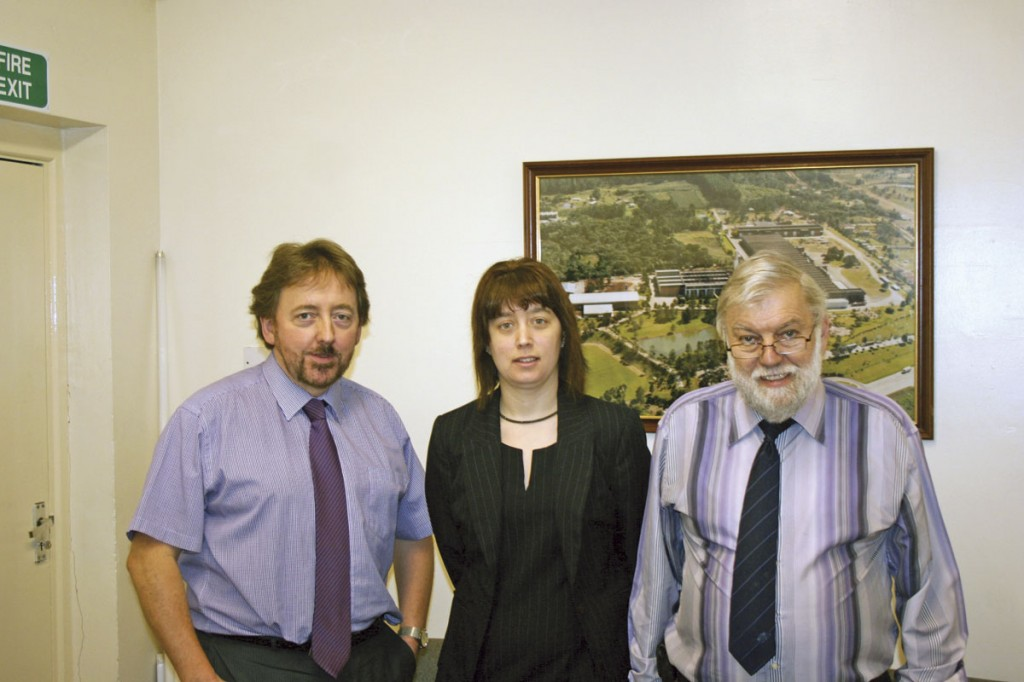 Members of the Nutexa team: Bill Johnson and Co-Directors, Janet Sergeant and Peter Sergeant