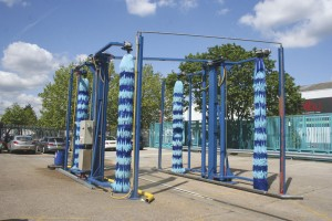 The bus wash at the new site means the operator does not have to rely on another operator's washing facilities