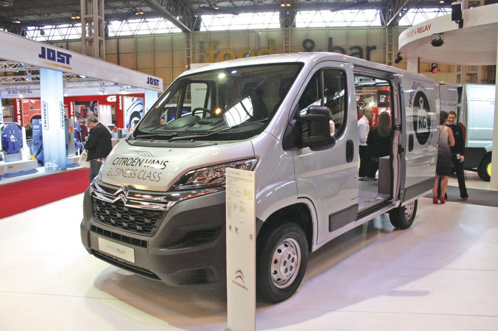 Citroen's new Relay large size van range