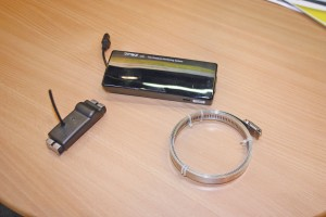 Components from RL Automotive's tyre pressure monitoring system