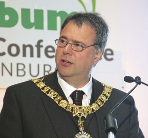 Lord Lieutenant & Lord Provost of the City of Edinburgh, the Rt Hon Donald Wilson