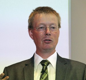 Professor Edward Jobson, Environmental Director of Volvo Bus