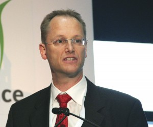 Jonas Stromberg, Scania's Director of Sustainable Solutions