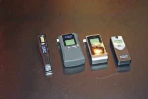 New hand held breathalysers were launched by Alcolock GB