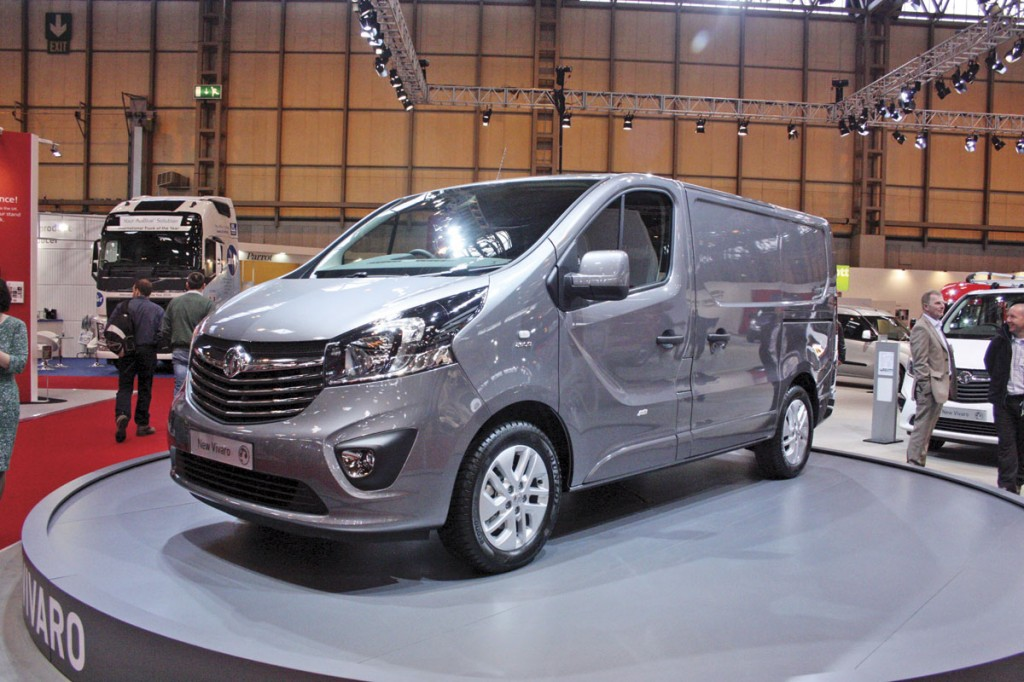 New Vauxhall Vivaro medium sized van