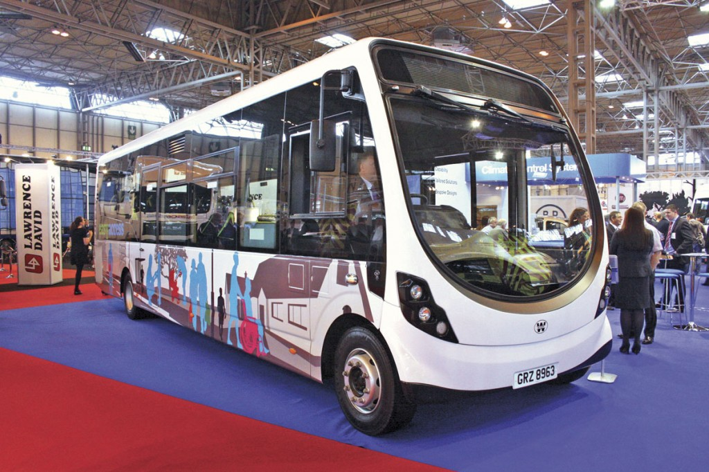 Nu-Track have been demonstrating their accessible prototype based on the Wrightbus StreetLite around London and the South East, where it has been well received