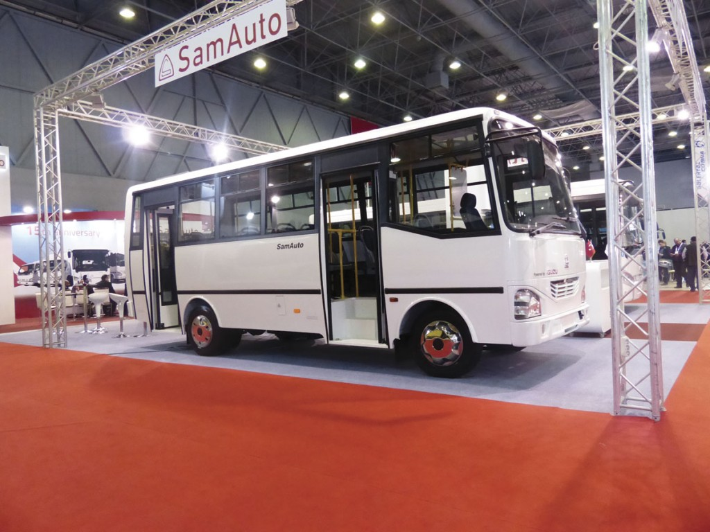 SamAuto builds around 1,000 of these HD41 midibuses each year