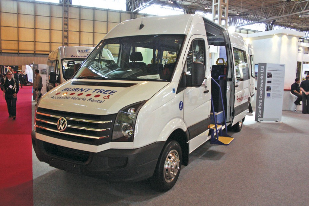 Stanford Coachworks also built this accessible VW Crafter for Burnt Tree Access-a-bus