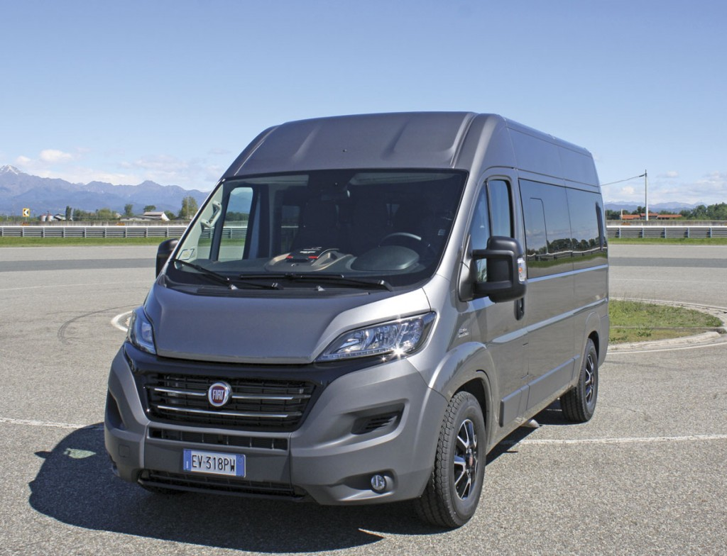 The 7-seat Ducato maxi 2.3l 150 Multijet