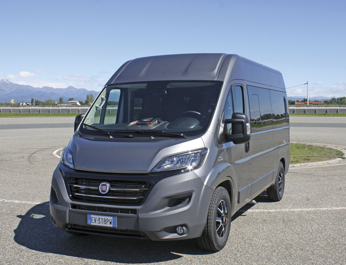 the new generation fiat ducato sixth and the best bus. Black Bedroom Furniture Sets. Home Design Ideas