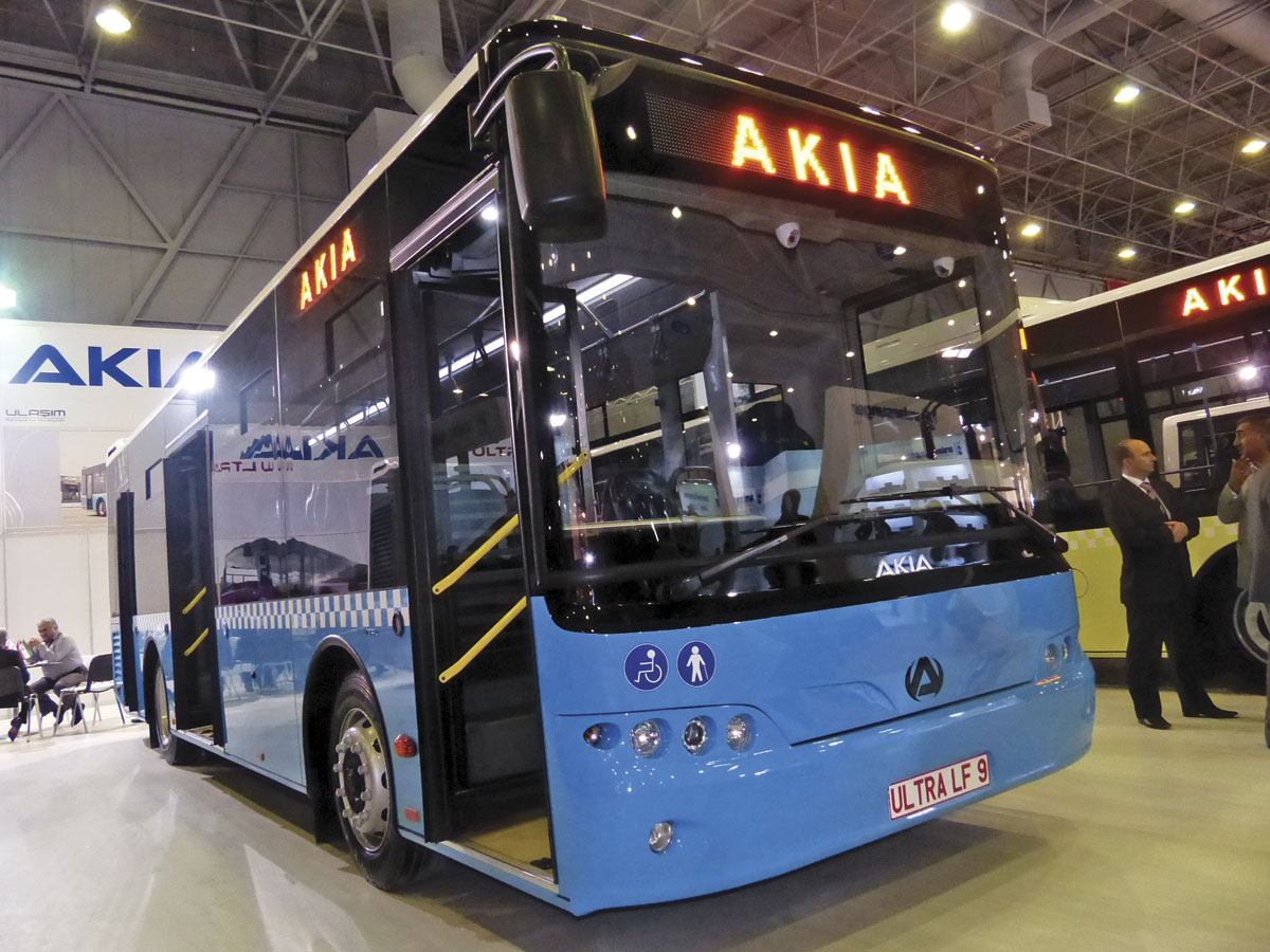 The Ultra LF9 low floor midibus by Akia