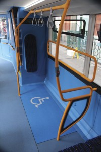The easy to use wheelchair bay