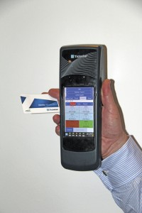 Ticketer's new HH200 hand held ticket machine