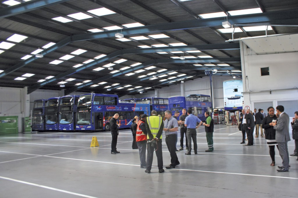 The opening event gave visitors the chance to look round the new site