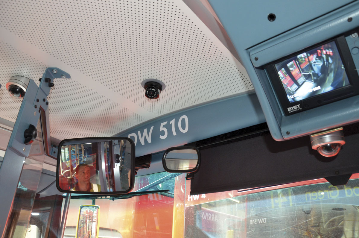 Surveillance On The Increase Cctv In The Bus And Coach