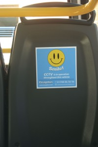 CCTV is now more frequently fitted on buses and coaches