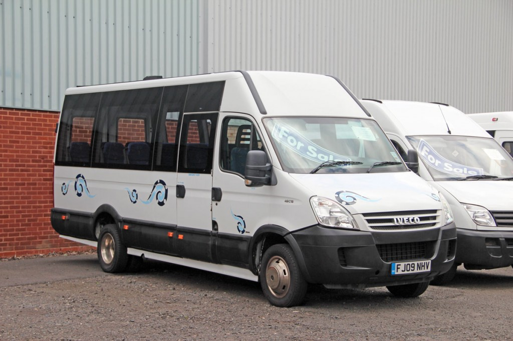 Currently in stock is this 2009 Iveco Daily 45C15 16 seater with three-litre engine and factory fitted power door