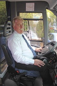 Dave Phillips, General Manager of London Mini Coaches