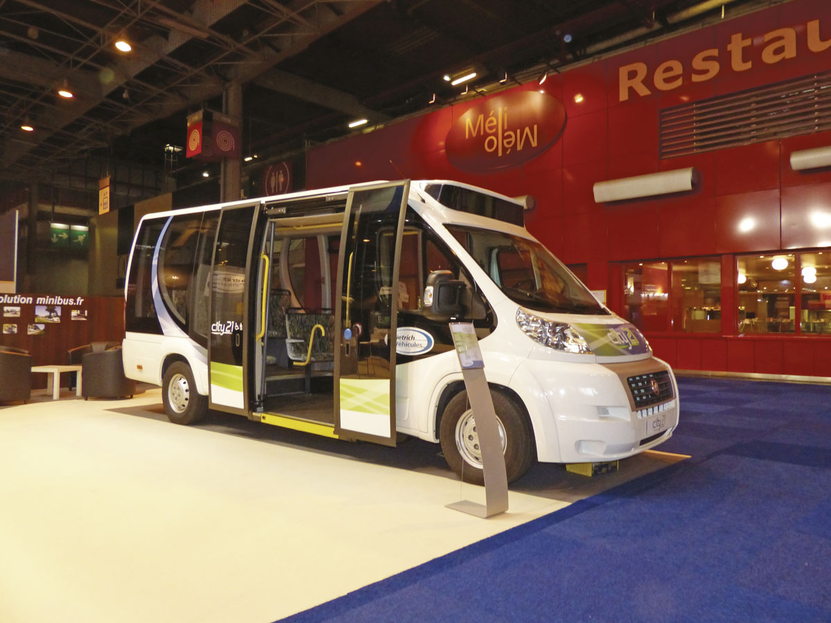 Dietrich Vehicules built this minibus on a Fiat Ducato base