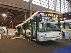 Heuliez Bus will supply 200 of these hybrid buses to RATP, Paris