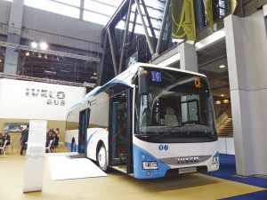 The Iveco Crossway LE 10.8m bus homologated for city service