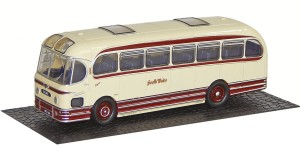 The first release of Oxford Diecast's Weymann Fanfare model appropriately carries South Wales colours