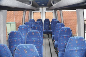 The interior of an Iveco Daily 45C15 currently on offer at the Willenhall site