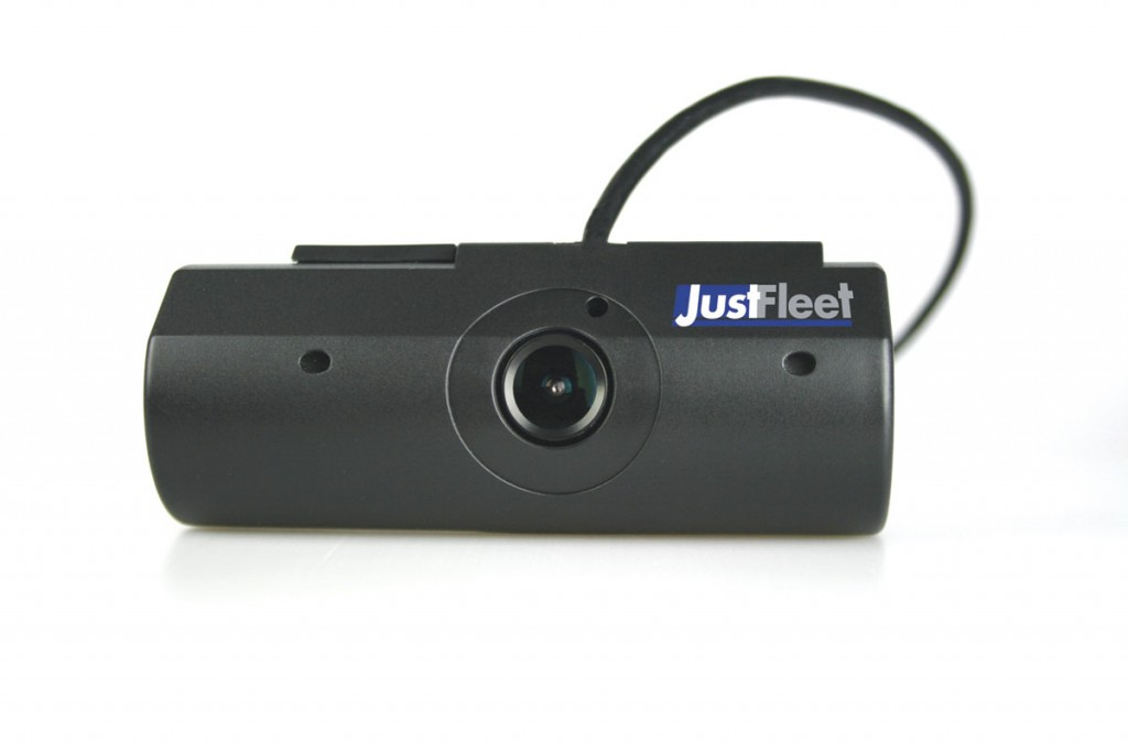 A 3G front facing accident camera, as fitted by Just Fleet