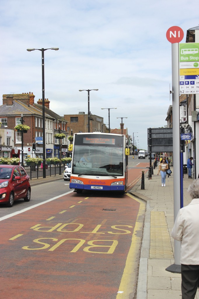 Bus lanes in Dunstable's notoriously difficult High Street are proving invaluable