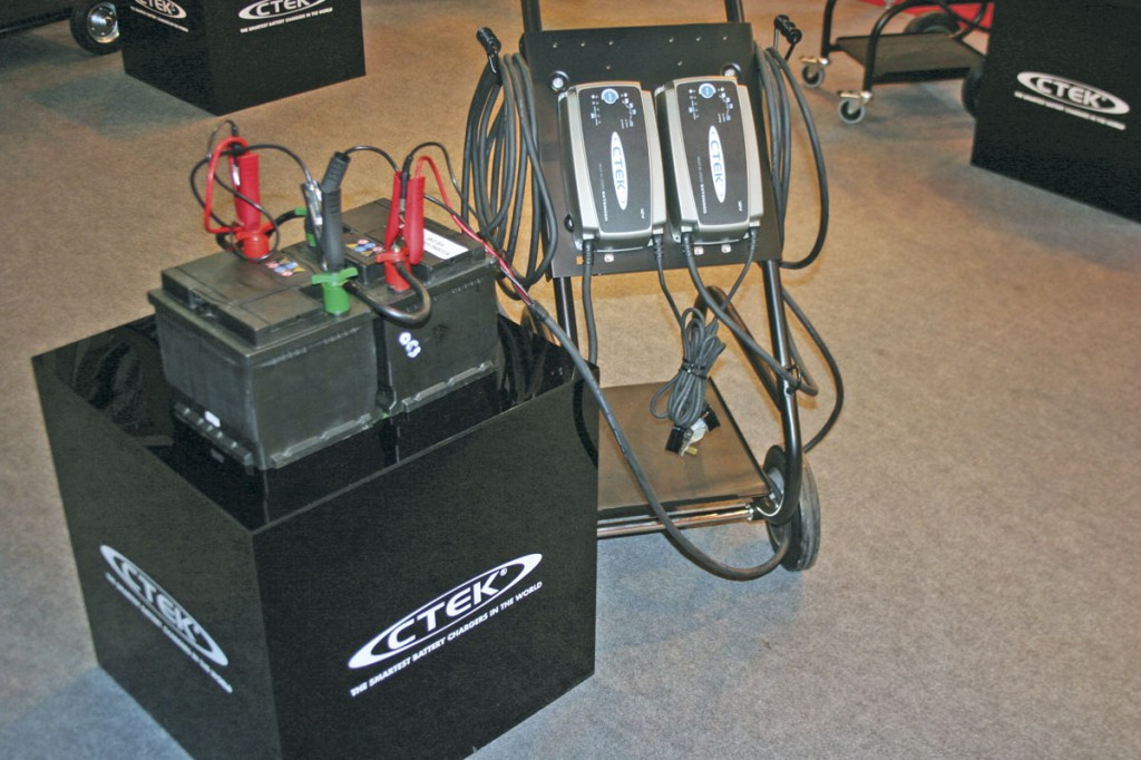 By charging each 12V battery individually, workshops can extend battery life by up to three times