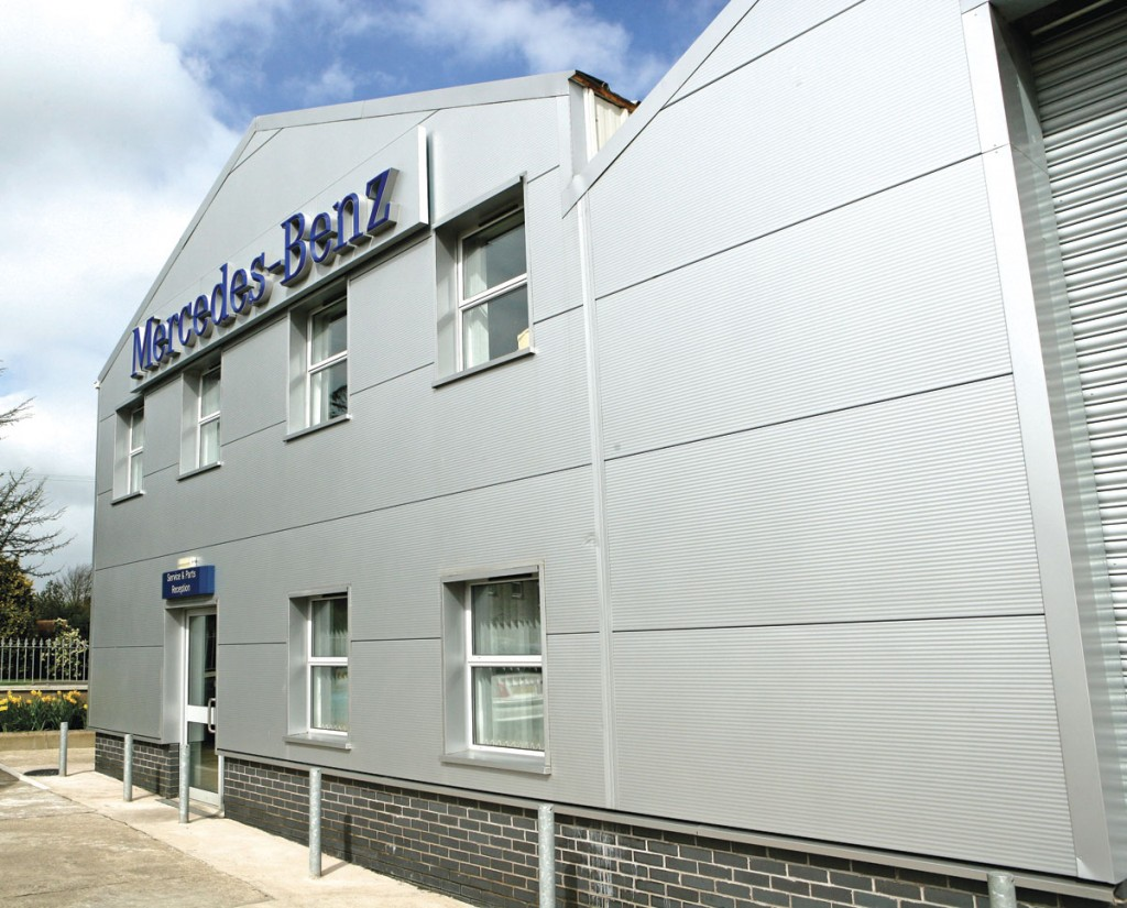 Mercedes-Benz Truck and Van (NI) also operates a smaller facility at Dungannon close to the border with the Republic