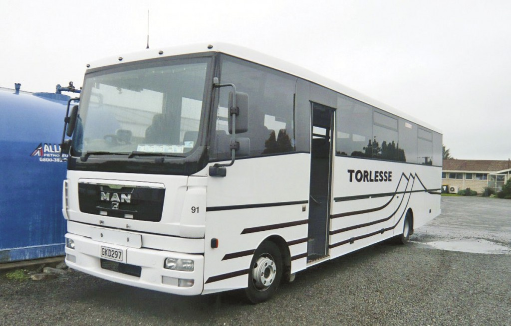 New Zealand operators such as Torlesse have found the lightweight option of the MAN TGL with Coachwork Central body is a good economic proposition. They operate no less than ten new ones, the latest examples with Euro5 engines