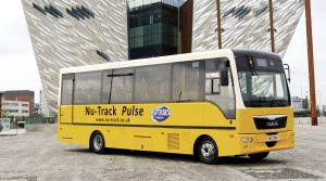 Is the Pulse the new Vario? Nu-Track and MAN launch new 33 seat bus