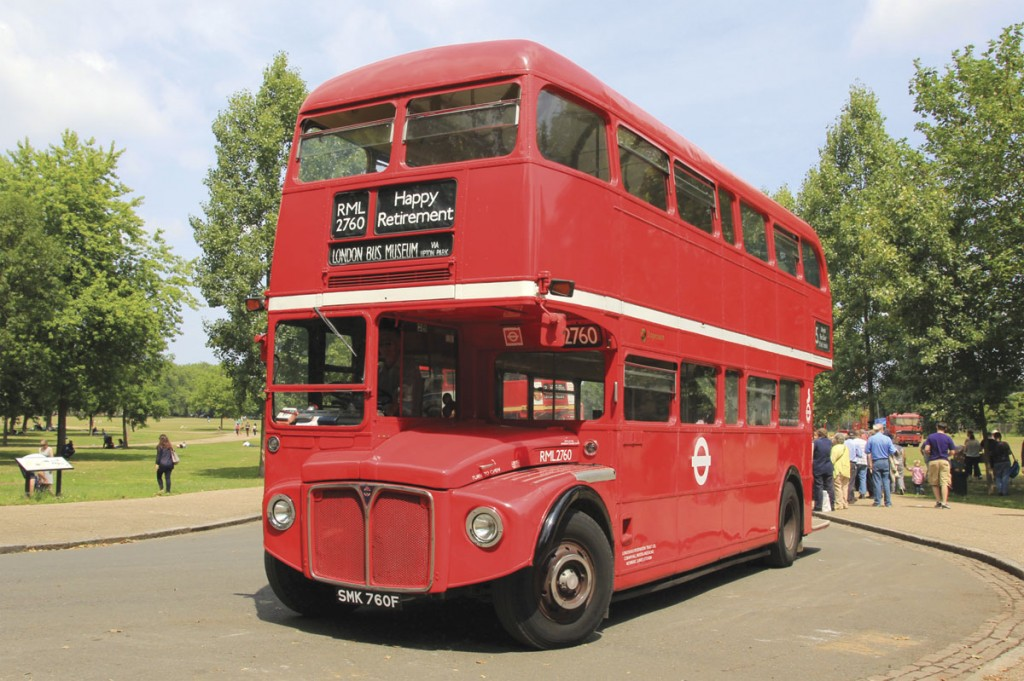 Numerically the last built Routemaster, RML2760 in original condition with AEC engine is on long term loan from Stagecoach London to the London Bus Museum