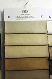 This budget suede effect fabric could be useful for a variety of trimming applications