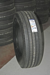 A Falken tyre. This brand is proving popular for TD Tyres