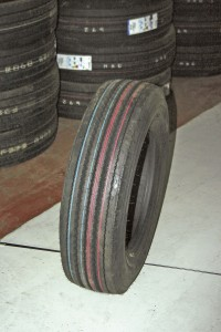 A UniRoyal tyre from the company's premium range