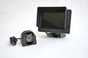 A reversing camera, one of the many technologies CMS can install onboard