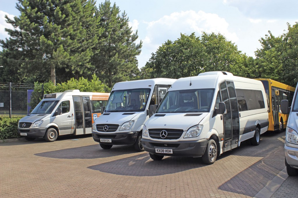 Accessible, low floor service bus, factory conversions and luxury coach specifications are among the options in Dawsonrentals' minibus fleet